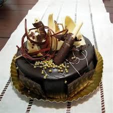 happy birthday chocolate cake make the