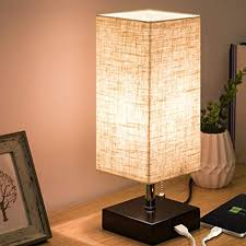 Table lamps modern Luxury Zeefo Usb Table Lamp Modern Design Bedside Table Lamps With Usb Charging Port Wooden Amazoncom Zeefo Usb Table Lamp Modern Design Bedside Table Lamps With Usb