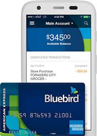 Customer Care At T Alternative To Banking Bluebird By American Express Walmart