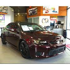 2012 Scion Tc Red Coupe Wheels Tint Hand Me The Keys And No One Gets Hurt Dream Cars Car Wrap Scion