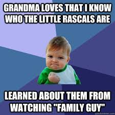 grandma loves that i know who the little rascals are learned about ... via Relatably.com
