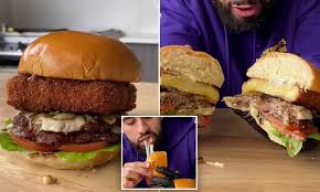 An easy recipe to try right now! How To Make An Oozing Mozzarella Patty In Your Own Kitchen Daily Mail Online