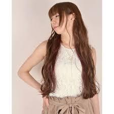 インナーカラー大人ロングウェーブ30代髪型 ロングヘア Mias