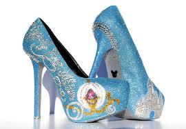 Light Blue Glitter Heels Cinderella Heels With Swarovski Crystals On Baby Blue Glitter Platforms Sold By Wicked Addiction
