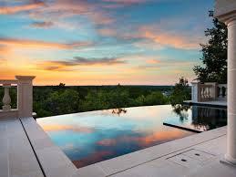 backyard infinity pools. Luxury Infinity Pool Backyard Pools F