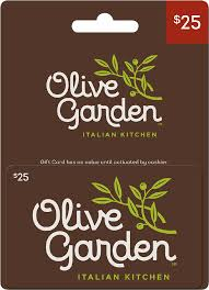 olive garden italian kitchen universal 25 gift card larger front