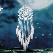 Nice Dream Catchers Classy Gorgeous Beautiful White Feather Dreamcatcher Nice Gift Dream