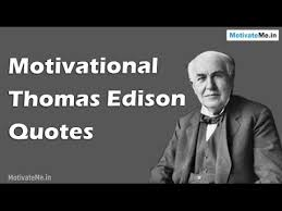 Thomas Edison Quotes Beauteous 48 Motivational Thomas Edison Quotes YouTube
