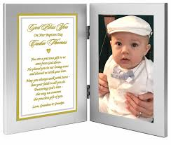 baby baptism gift from grandpas pas etc precious gift from above double frame add photo