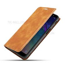 ultra thin simple style leather flip phone cover case with card slots for oneplus 7