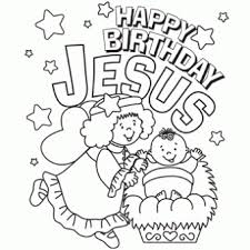 Small Picture Happy Birthday Jesus Coloring Page Free Christmas Recipes