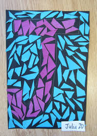 Simple Mosaic Art Designs Magnificent Word To The Wise Simple Paper Mosaic Design