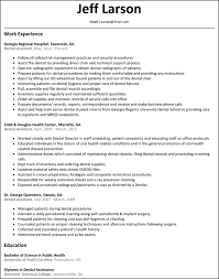 Dental Skills Resume Dental Assistant Experience Resume Dental Assistant Resume Skills 19