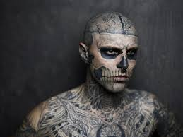 detailed portrait of zombie boy