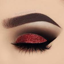 red and black bination is in every sense very effective attractive and brave if you have brown eyes you can feel free to take this makeup