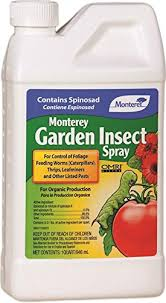 garden insecticide. Monterey Garden Insect Spray With Spinosad Concentrate Insecticide
