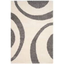 safavieh portofino power loomed 4 x 6 runner area rug ivory grey only