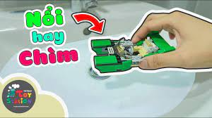 Thuyền Lego có nổi được trên mặt nước? LEGO 31056 ToyStation 330 - YouTube