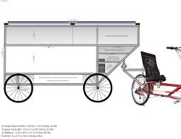 Bike Camper Trailer Solar Bicycle Camper Trailer Initial Plans Wiki World Order