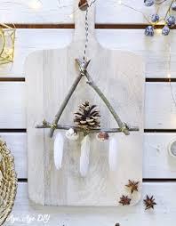 Weihnachtsdeko Basteln Zweige