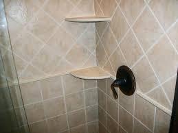 shower corner shelf tile shelves wonderful tile shower corner shelf made of ceramic in ivory color
