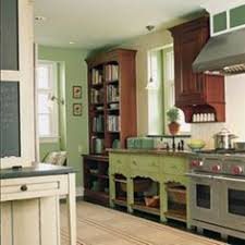 used kitchen furniture. I LOVE This Kitchen By David Prince. He Used A Gorgeous Antique Table For The Sink Cabinet And More Subtle Green On Wall. Furniture