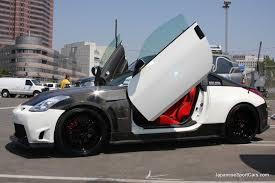 nissan 350z white custom. Unique Nissan Custom Nissan 350Z  Lamborghini Door Shown At 2008 NISEI Week Showoff  Car Show In To 350z White