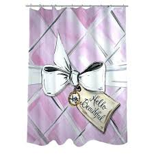 tension mount curved shower rod stylish bow shower curtain adjule tension mount curved shower rod in