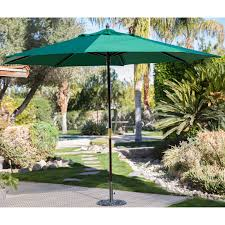 c coast 11 ft steel offset patio umbrella with detachable netting hayneedle