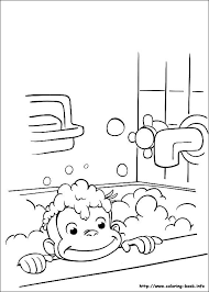 Curious George Coloring Picture Things For Josephine Curious