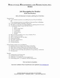 Draftsman Job Description Resume Cosmetic Salesperson Resume Sample