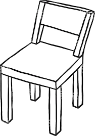 armchair clipart chair black and white cool of within exercises