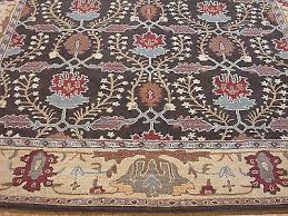 pottery barn brandon persian style hand tufted new wool area rug carpet 8 x 10
