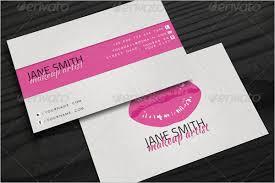best makeup business card template