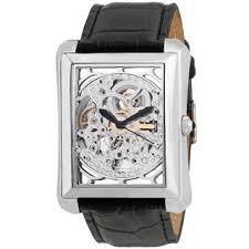 skeleton men s watches shop the best deals for 2017 akribos xxiv men s skeleton automatic silver tone strap watch