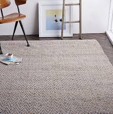 west elm jute chenille herringbone rug