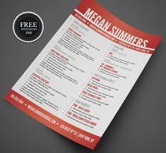 023 Free Resume Psd Template Creative Templates Unbelievable Ideas