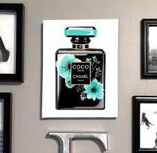 perfume poster coco chanel art