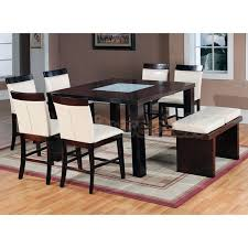 modern counter height table. Amazing Of Dining Set With Bench Modern Counter Height W World Imports Table N