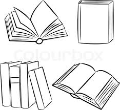 book clip art drawer books stock vector colourbox