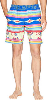 Volley Size Chart Toes On The Nose Mens Serape Volley Shorts At Amazon Mens