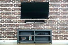 tv wall mount wall mount speaker shelf steel wall mount speaker bracket for mounting soundbar