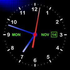 3d wallpaper clock free