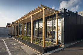 Shipping container office building Contemporary Shipping Containers Offices Google Zoeken Dezeen Shipping Containers Offices Google Zoeken Container Structures