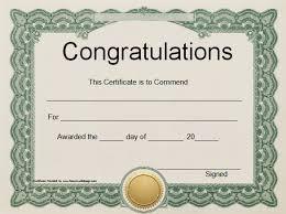 Congratulation Certificate Congratulation Word Certificate Template Free Docx