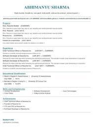 Rinc Resume Builder By Abhimanyu Sharma Business Category 36