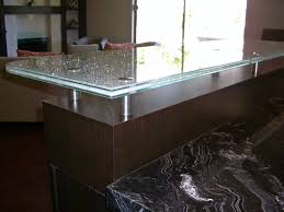 sans soucie shattered glass countertops etched glass