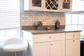 granite backsplash subway tile floor kitchen tiles color gray tile countertops