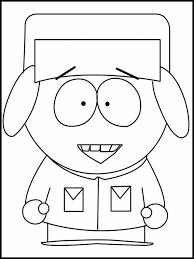 Kleurplaat South Park 3
