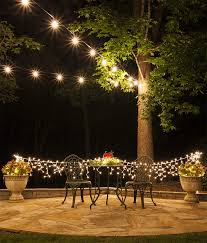 romantic hanging string lights